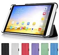 copertura della cassa astuta ultra sottile del cuoio del basamento per Huawei MediaPad m1 s8-301w tablet