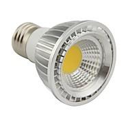 5W E26/E27 Luces PAR PAR20 1 COB 500LM lm Blanco Cálido Regulable AC 100-240 V