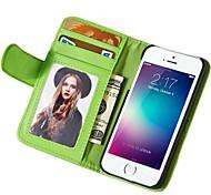 Soft-Touch-Muster PU-Leder-Brieftasche Abdeckung für iphone 6 Plus sortierten Farben