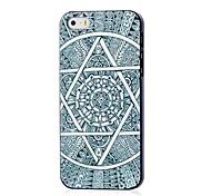 cas dur de modèle de mandala aztèque pour iphone 5/5 ans
