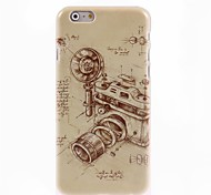 Vintage Camera Design Hard Case for iPhone 6 Plus