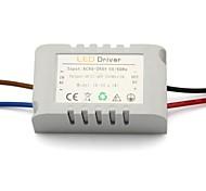 ac dc 85-277v 18-36V 6-10x1w conduit dur externe avec étui pour brasseur d'alimentation de la lumière