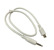 details over 3.5mm stereo naar mini-USB-kabel voor draagbare speaker audio