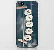Clip Dream Pattern Hard Case for iPhone 5/5S