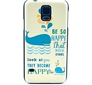 крышка жесткий чехол шаблон кит для Samsung Galaxy i9600 s5