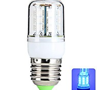 E26/E27 4 W 27 SMD 5050 300 LM Blue T Corn Bulbs AC 220-240 V
