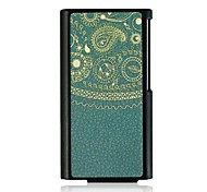 Totem  Leather Vein Pattern Hard Case for iPod Nano7