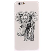 Elephant Design Hard Case for iPhone 6