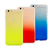 High Quality Ultra-thin Gradient Color Design PC Hard Case for iPhone 6 Plus (Assorted Colors)