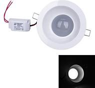 Lâmpada de Teto 9 W 630 LM 6000~6500 K Branco Frio 18 SMD 5730 AC 100-240 V Encaixe Embutido
