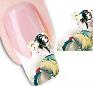 Water Transfer Printing Nail Stickers XF1316