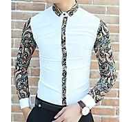Men's Korean Style Style Fashion Long Sleeves Shirt
