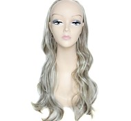 Half Wig 27 Inch Long Big Wave Female Elegant Fashion 100% 180 Degree High Temperature Fiber Synthetic Celebrity Wig