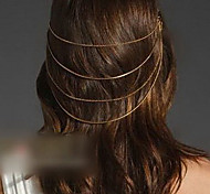 Lovely Double-Layer Hair Pins (Coffee,Black)
