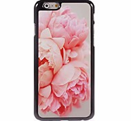 Blossomy Rose Design Aluminum Hard Case for iPhone 6