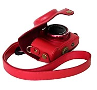 dengpin® Canon Powershot sx170 est détachable de protection appareil photo en cuir cas sac housse avec bandoulière