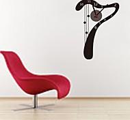 zooyoo® elektronischen Batteriezeitnehmer diy Wort sieben Form Wanduhr Wandaufkleber Wandaufkleberausgangsdekor für Zimmer