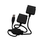 ps2 ps1 para pc controlador USB 2.0 conversor adaptador para sony ps2 com fio controlador