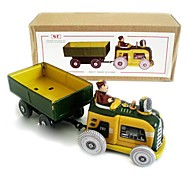 Tin Tractor Wind-Up Toys for Collection