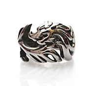 Z&X®  Men's Fashion And Personality Hollow Out Dragon Titanium Steel Ring