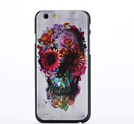 Oil Painting Pattern Plastic Cover for iPhone 6