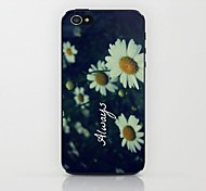 Small Daisy Pattern Hard Case for iPhone 4/4S