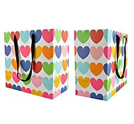 Lureme Fashion Love Heart Pattern Gift  Bag(1Pc)