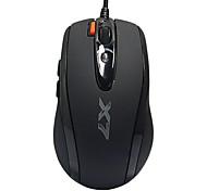 x-710k Shuangfeiyan juego con cable usb ratón 1600