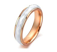 Women's Ceramic Diamond Stainless Steel  Ring