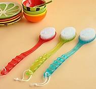 escova de massagem de limpeza banho esfoliante multifuncional (cor aleatória)