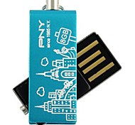 pny encantadora paris agregado torre Eiffel unidad flash USB de 8 GB