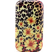 For Samsung Galaxy Case Pattern Case Back Cover Case Flower TPU Samsung S3 Mini