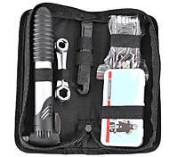 rosewheel kit ferramenta de reparo da bicicleta multi-funcional incluindo alavanca de bomba de pneu e cortador cadeia