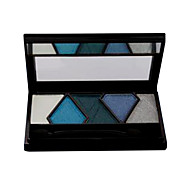 1PC Soft Eyeshadow with 5 Colors