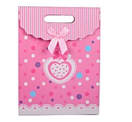 Coway 26.5*19*9 Fresh Pink Love Knot Cover Bag Gift Bags