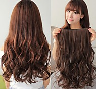 Synthetic Long Wave 5 Clip-in Hair Extension