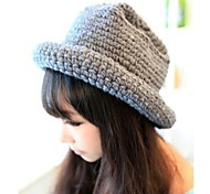 Women Knitwear Bucket Hat , Casual Winter