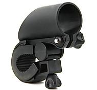 Cycling Black Plastic Gun Shape Bike/Bicycle Clip