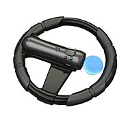 Steering Racing Wheel PS Move Motion Controller Joypad for PS3 Racing Game