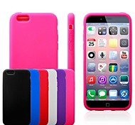 Flat Surface Silicone Soft Case for iPhone 6/6S (Assorted Colors)