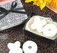 jabón de regalos de vacaciones de forma mini-buey (color al azar)