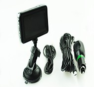 2.5-inch Support G-Sensor  Car DVR With Night Vision Rotatable and Upgrade Chip Screen Display