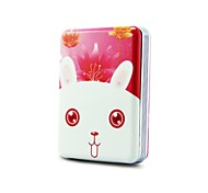 12000mAh Rabbit Portable Power Bank for iPhone 6/IPhone5C/hTc/lG/iPad/and Other Smart Phones