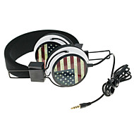 WZS- Ergonomic Hi-Fi Stereo Headphone with Mic Microphone- British Flag(Black)