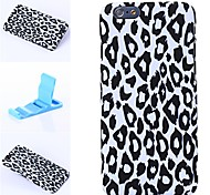 Attractive Leopard Print Pattern Plastic Hard Cover for iPhone 6