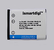 Ismart Digital Camera Battery for Pentax Coolpix S200, S210 and More
