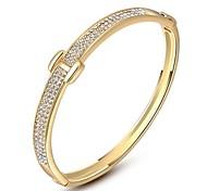 Gorgeous Fashion Jewelry  Gold plated with  Rhinestone  Bracelet  (one piece)