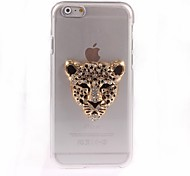 Leopard Pattern PC Hard Case for iPhone 6 Plus