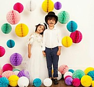 6 Inch Honeycomb Tissue Paper Flower Ball (More Colors)