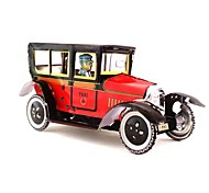 Tin British Old-fashioned Taxi Wind-Up Toys for Collection